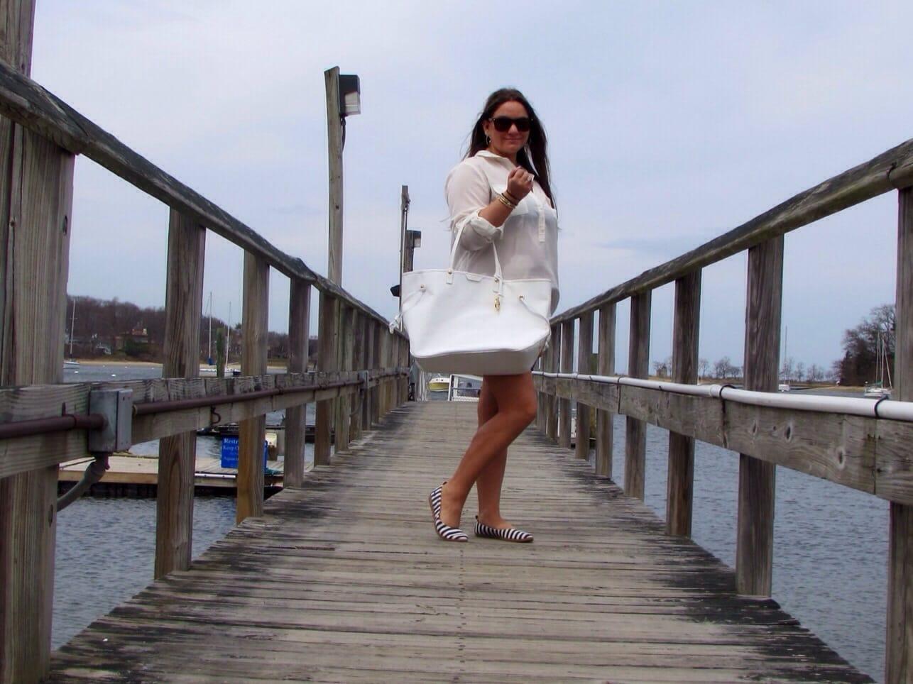 missyonmadison blog blogger fashion blog la mer watch gold wrap watch gold bracelets bling heart photo photography love tiffany bracelets nautical long island beach
