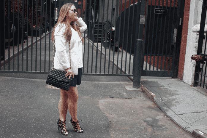 missyonmadison blog blogger cobalt blue skirt prabalgurung target targetstyle rebeccaminkoff handbags designer nyc fashion
