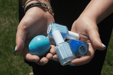 essie nailpolish essiepolish fashion blog blogger bluehues eos bluenailpolish missyonmadison beauty cosmetics