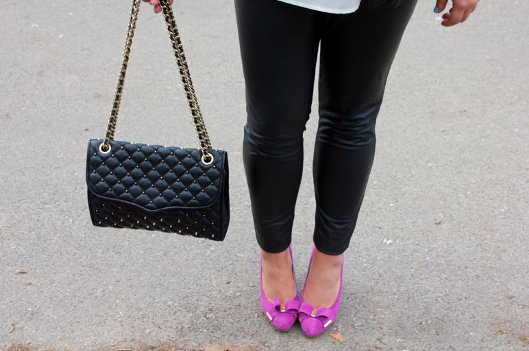 rebeccaminkoff fashion style blog blogger missyonmadison centralpark pinkpumps shoes michaelkors