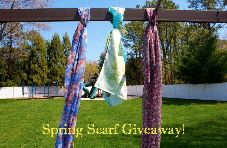 scarves spring springscarves contest giveaway blog blogger colorfulscarves entertowin