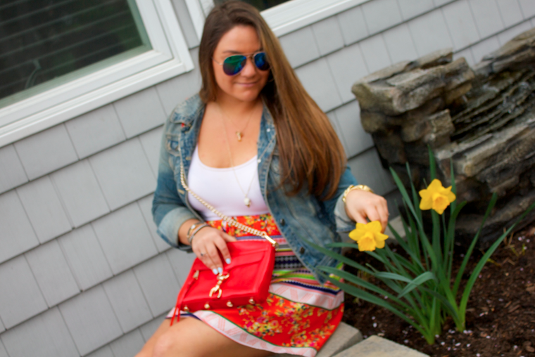 cincodemayo flowers yellowflowers style blog blogger missyonmadison rebeccaminkoff mirrored aviators
