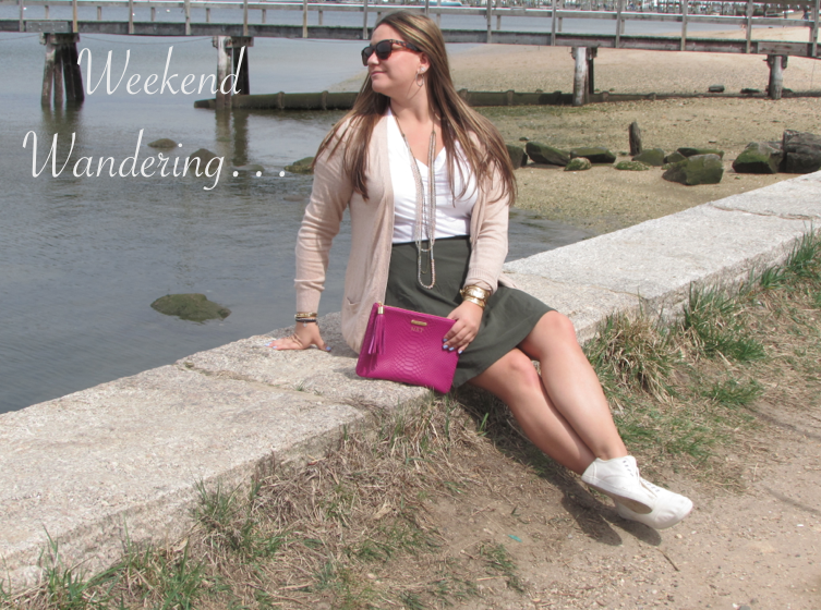 giginewyork giginy clutch pinkbag style capwellco fashion blog blogger fashionblog fashionblogger longisland beach huntington stevemadden whitesneakers