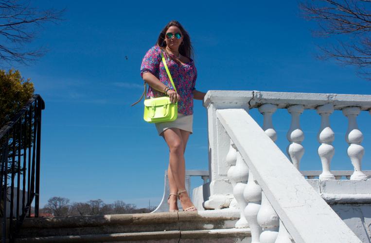 fashion blog blogger missyonmadison longisland abercrombie pinktop neoncambridgesatchel neonhandbags spring springstyle springfashion shop