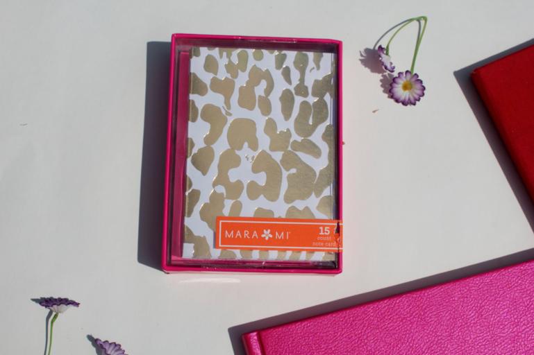 stationary leopardprint leopardnotecards notecards style fashion blog blogger missyonmadison write writing