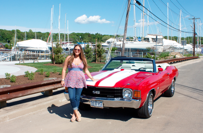 freepeople summer jeans chevelle 1972chevelle redchevelle ss chevelless mdw memorialday memorialdayweekend mdw family