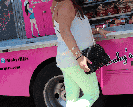 yellowpants la cali california missyonmadison travel hotpinktruck vacation style blog blogger fashionblog styleblog