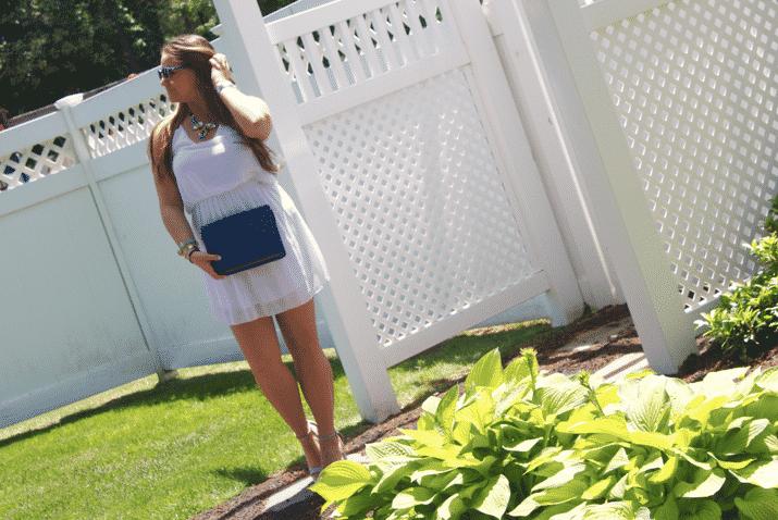 fashion style blog blogger missyonmadison oohlala whitedress tankdress cobaltbag summer longisland beauty streetstyle fashionblog fashionblogger styleblog styleblogger