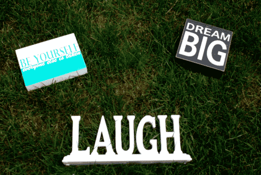wordsofwisdom laugh dreambig nordstrom target marshalls tjmaxx quotes sayings art decor missyonmadison blog blogger