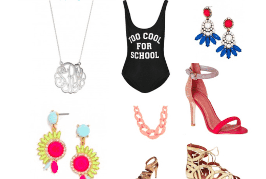 missyonmadison weekendshopping internetshopping onlineshopping baublebar bling jewels sandals zappos isola monogramnecklace toocoolforschool netaporter joiesandals gentlesouls