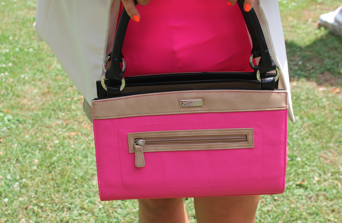 michehandbags pinkbag style fashion blog blogger missyonmadison