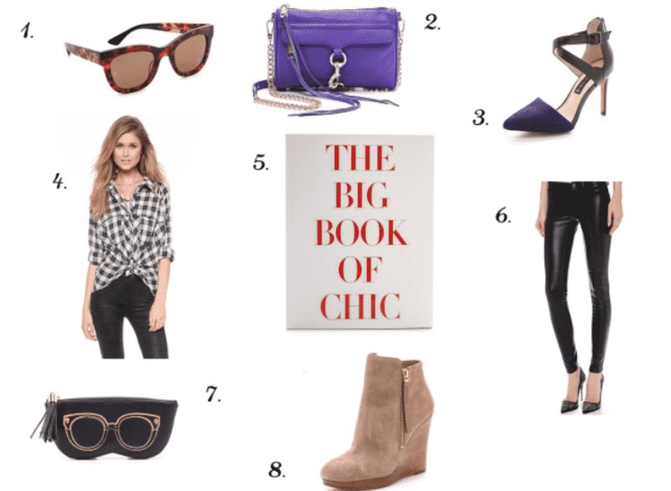 missyonmadison bookofchic michaelkors rebeccaminkoff minimacbag purpleminimacbag fashion style shopbop shopbopsales sale leatherpants plaidbuttondown