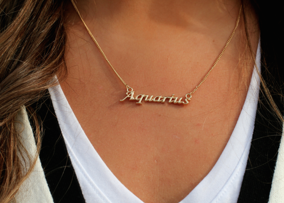 holiday gift guide  zodiac jewelry