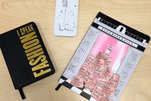 katespade katespadeagenda polkadotplanner katespadepolkadotplanner metallicmarket fashionblogger whitemanicure 2015planner 2015agenda