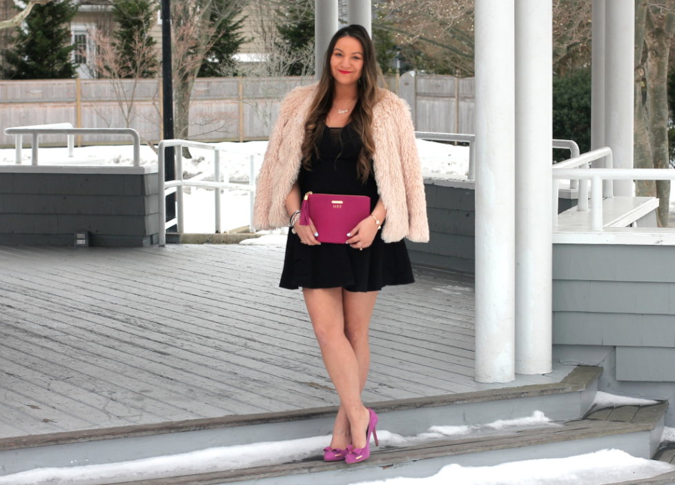 Valentine's Day Date Night Outfit Inspo - LBD - Sparkle Republic Jewelry Giveaway