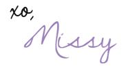 MissyOnMadison signature logo NEWLogo xo