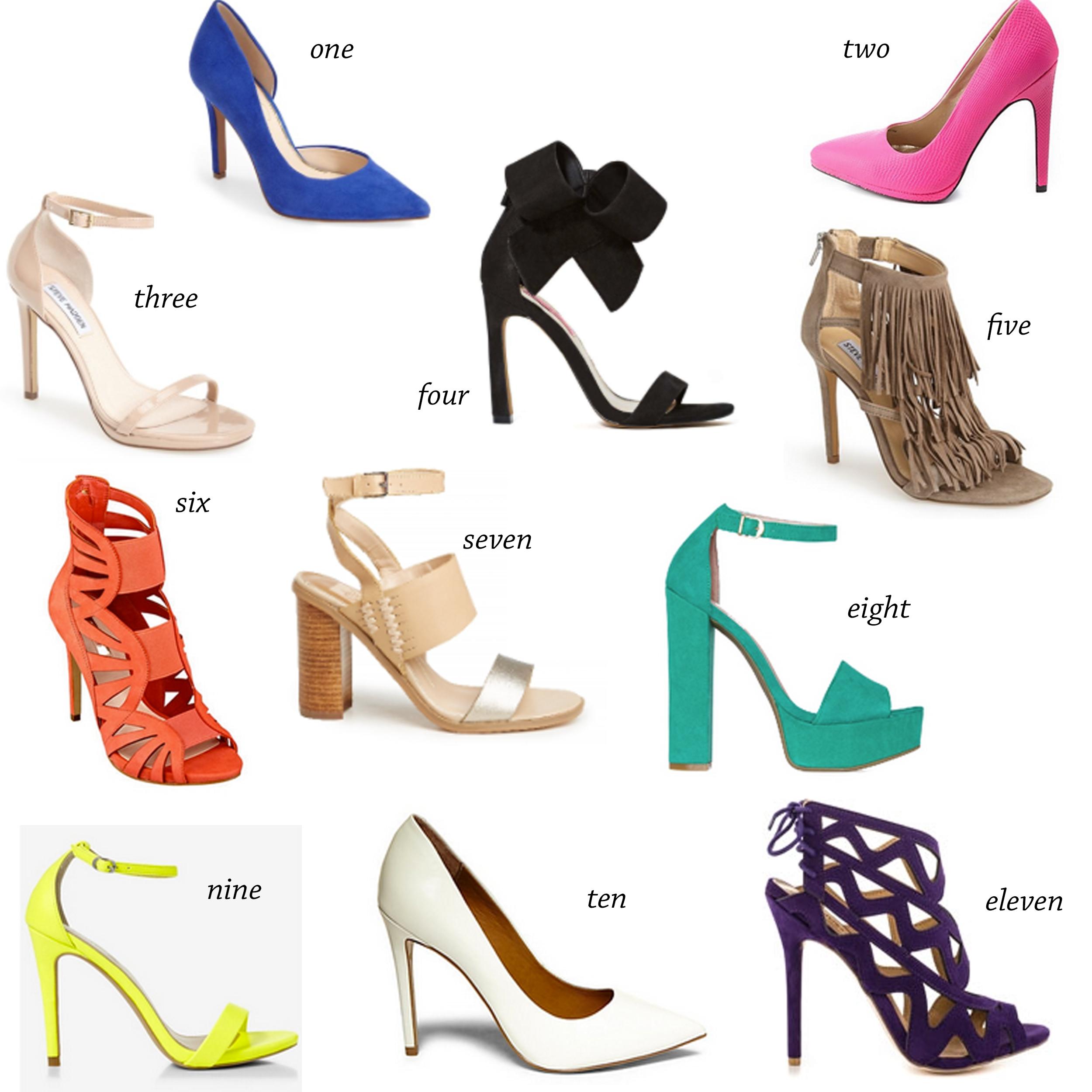 missyonmadison springfootwear shoppingcollage springshoes purpleheels  fringeheels bluepumps cobaltbluepumps stevemadden whitepumps nudesandals  blocksandals ...