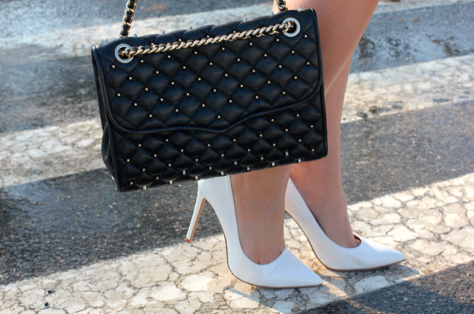 melissatierney, missyonmadison, rebeccaminkoff, myrm, rebeccaminkoff affair bag, whitepointedpumps, stevemadden, stevemaddenpointedpumps, whitepointedtoepumps, whitefauxleatherskirt, whitealineskirt, bluestatementnecklace, babybluenecklace, statementnecklace, mintgreenblazer, mintgreencami, what to wear for easter, easterstyle, sunday brunch style, spring style, ootd, outfit inspiration, outfit inspo, streetstyle, blackaviators, girlystyle, girlygirl, longhairdontcare, brunettehair, what to wear in spring,