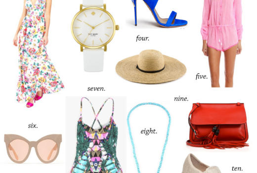 missyonmadison, lyst, lyst.com, summer shopping, summerstyle, summer picks, what to wear this summer, swimwear, swimsuit, beach hat, beach hats, gucci, gucci bag, red gucci bag, slip on sneakers, pink romper, blue heels, blue sandals, yumi kumi, maxi dress, floral maxi dress, karen walker, karen walker sunglasses, oversized sunglasses, sunglasses, mara hoffman, mara hoffman bathing suit, aqua blue necklace, statement necklace, kate spade watch, white watch, pink playsuit, playsuit, rompers, style, fashion