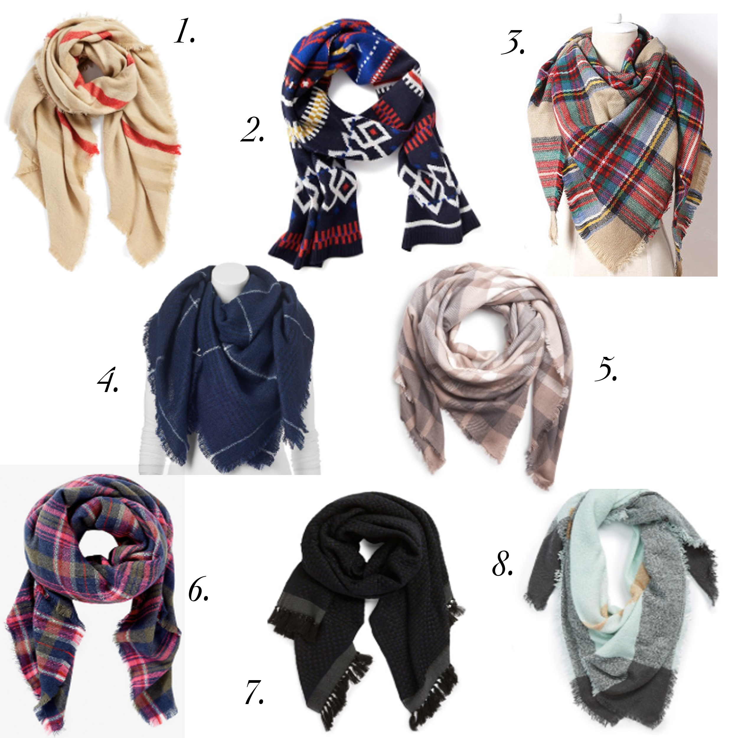 missyonmadison, fashion blogger, blanket scarf, blanket scarves, how to wear a scarf, how to wear a blanket scarf, la blogger, fall style, gift guide, gift guide 2015, sales, scarves on sale, kohls, nordstrom, etsy, asos, holiday gift guide, gift ideas,