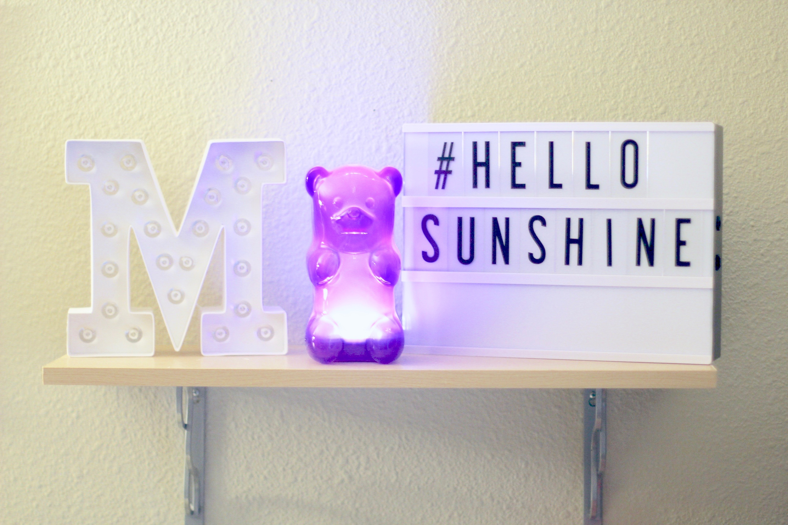 missyonmadison, melissa tierney, uncommon goods, gummy bear light, gummy bear night light, interior design, interior decor, interior decor inspo, pinterest ideas, you are beautiful, beautiful sign, wooden sign, inspirational decor, marquee light, movie props, initial lights, glitter mason jar, pink carnations, pink flowers, lifestyle blog, apartment decor, fashion blogger, home decor,