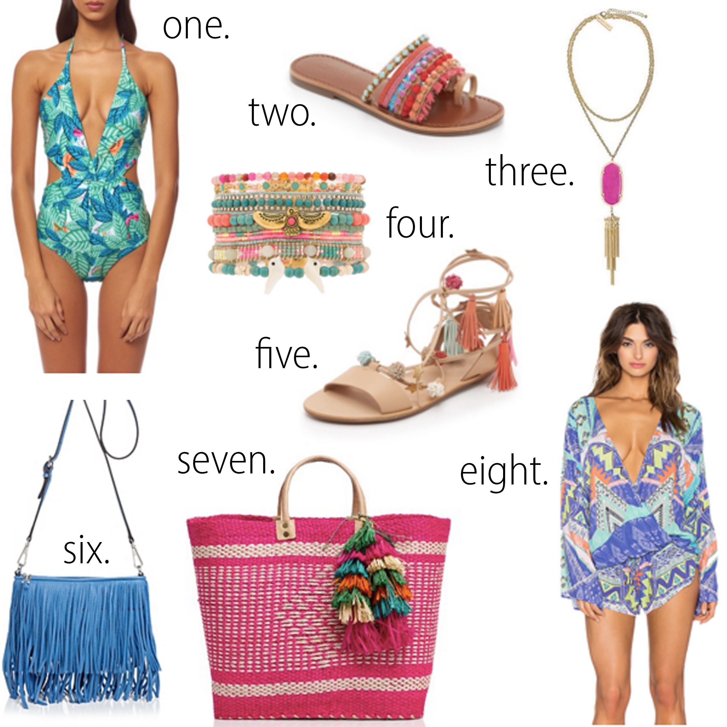 missyonmadison, melissa tierney, tory burch wedges, revolve clothing romper, mara hoffman swimsuit, all for color, all for color bikini, palm print bikini, pineapple bikini, floppy hat, vita liberata, tanning lotion, rebecca minkoff fringe crossbody, neon beach tote, palm springs, palm springs packing guide, what to pack for a weekend getaway, girls trip, summer travel packing, ray bans, loeffler randal sandals, schutz sandals, schutz shoes, lace up sandals, kendra scott necklace, kendra scott rayne necklace,