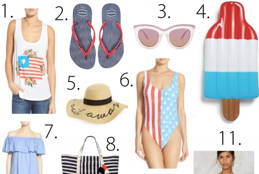 4th of july style, what to wear for the 4th of july, red white and blue, red white and blue accessories, fashion blogger, style blogger, style roundup, 4th of july trends, summer trends, summer style, 4th of july weekend, july 4th weekend,