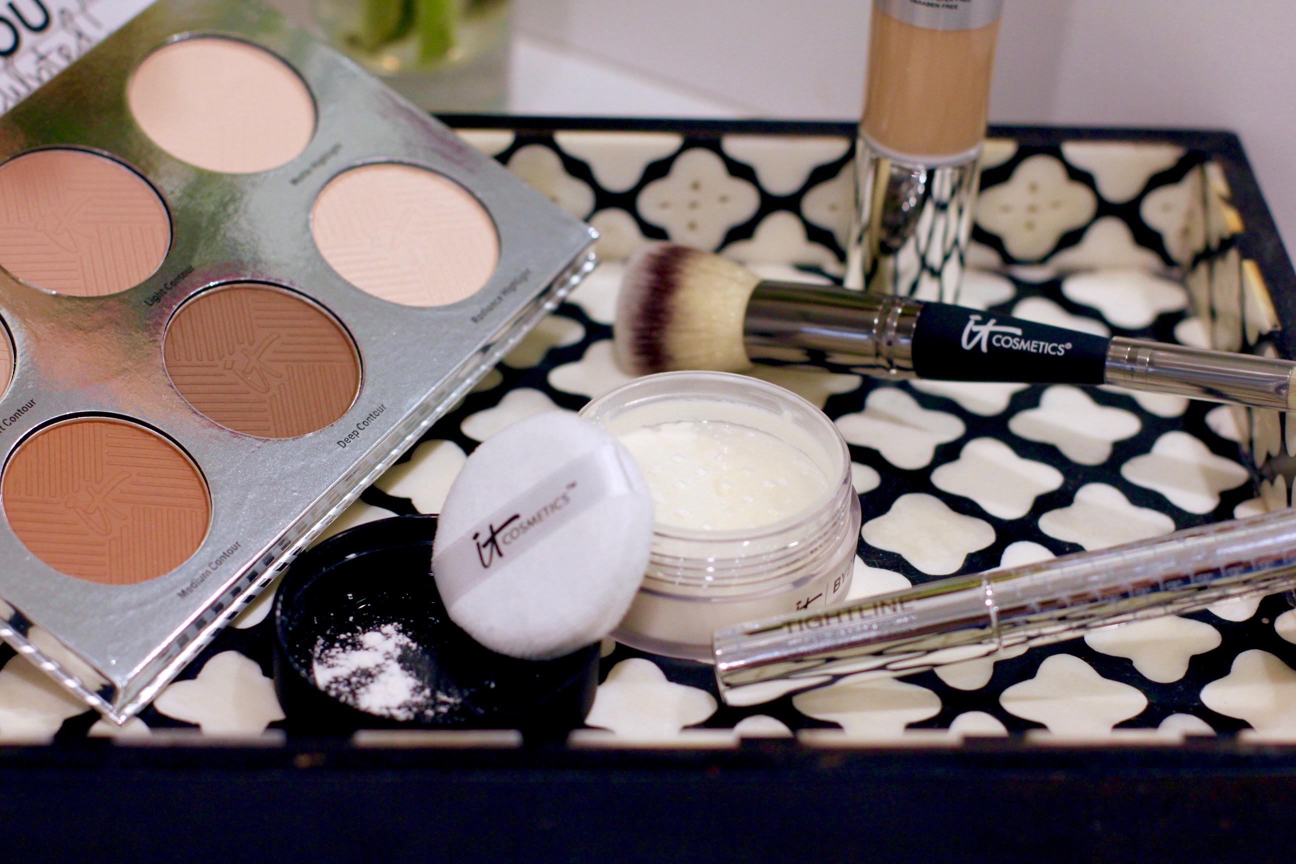 missyonmadison, melissa tierney, it cosmetics, ulta, ulta beauty, it cosmetics review, it cosmetics brushes, bye bye pores, pore powder, it cosmetics contour kit, contour kit, how to contour, cc cream, it cosmetics cc cream, it cosmetics tightline, it cosmetics mascara, beauty blog, beauty blogger, beauty review, beauty tutorial,