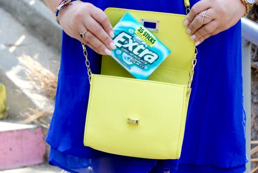 missyonmadison, melissa tierney, give extra get extra, night out prep, what to pack for a night out, whats in my bag, fashion blogger, lifestyle blog, night out tips, extra gum, walgreens, wrigleys, extra gum 35 pack, collective bias, fresh breathe, how to prep for date night, date night essentials, gigi ny, neon purse, summer style, date night trends,