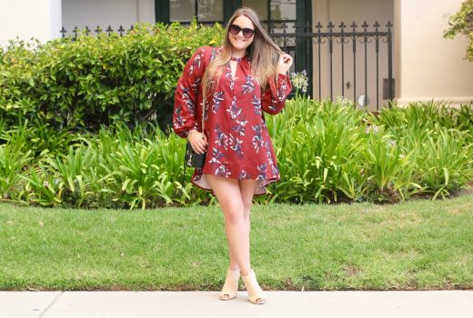 missyonmadison, melissa tierney, fashion blogger, fashion inspo, fall fashion, she in, she in dress, fall style, fall dress, go jane booties, rebecca minkoff, mini mac bag, rebecca minkoff mini mac bag, j crew sunglasses, outfit inspiration, street style, la blogger, floral dress, oxblood dress,