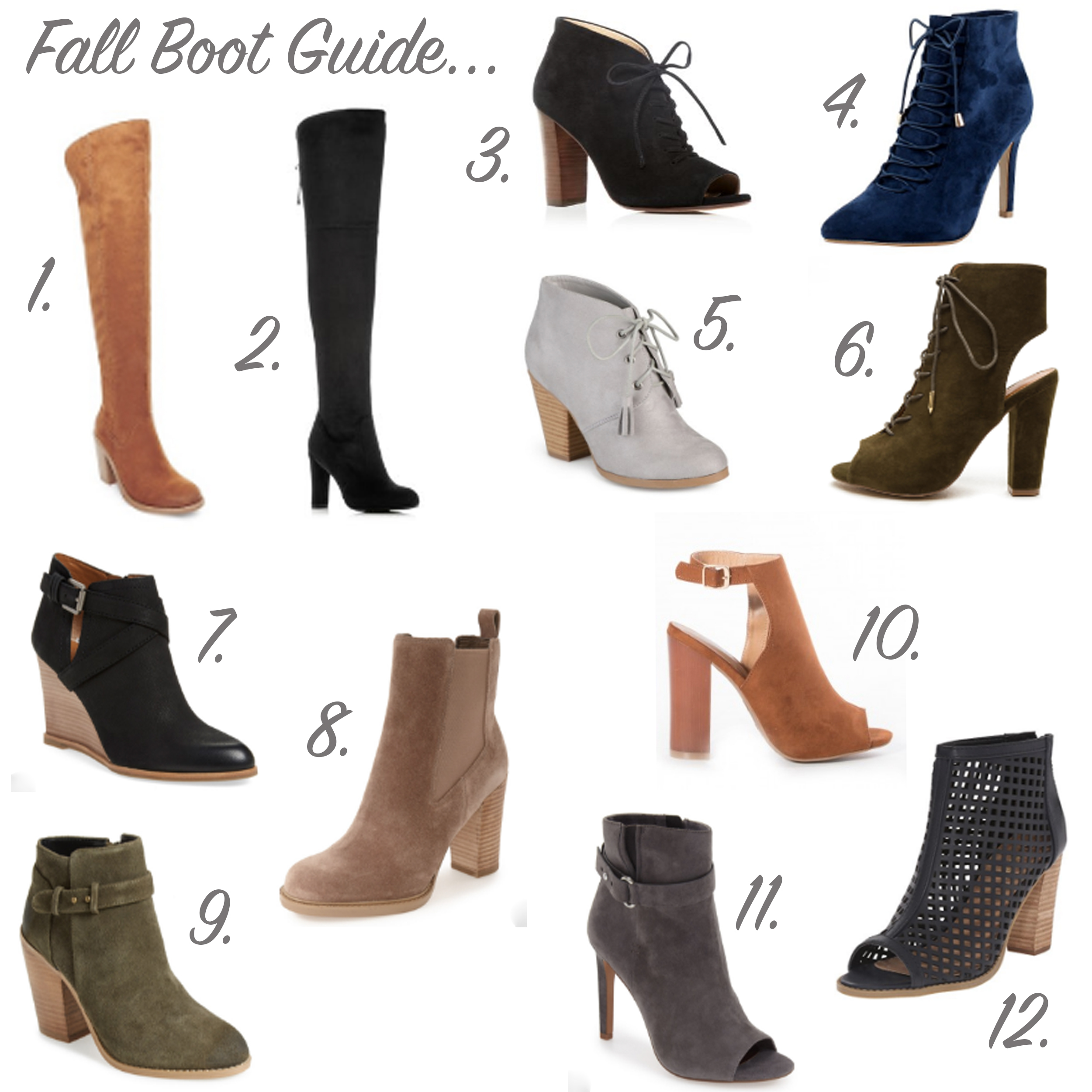 missyonmadison, melissa tierney, fall style, fall boot guide, fall boots, fall trends, fall shoes, fall boot trends, nordstrom, shoes, affordable boots, la blogger, blogged, la style, blogger style, fall footwear, go jane, shoetopia, nordstrom shoe guide, boots under 200, fall 2016 style, fall 2016 boot guide, lace up booties, ankle boots, otk boots, over the knee boots, suede boots, peep toe booties,