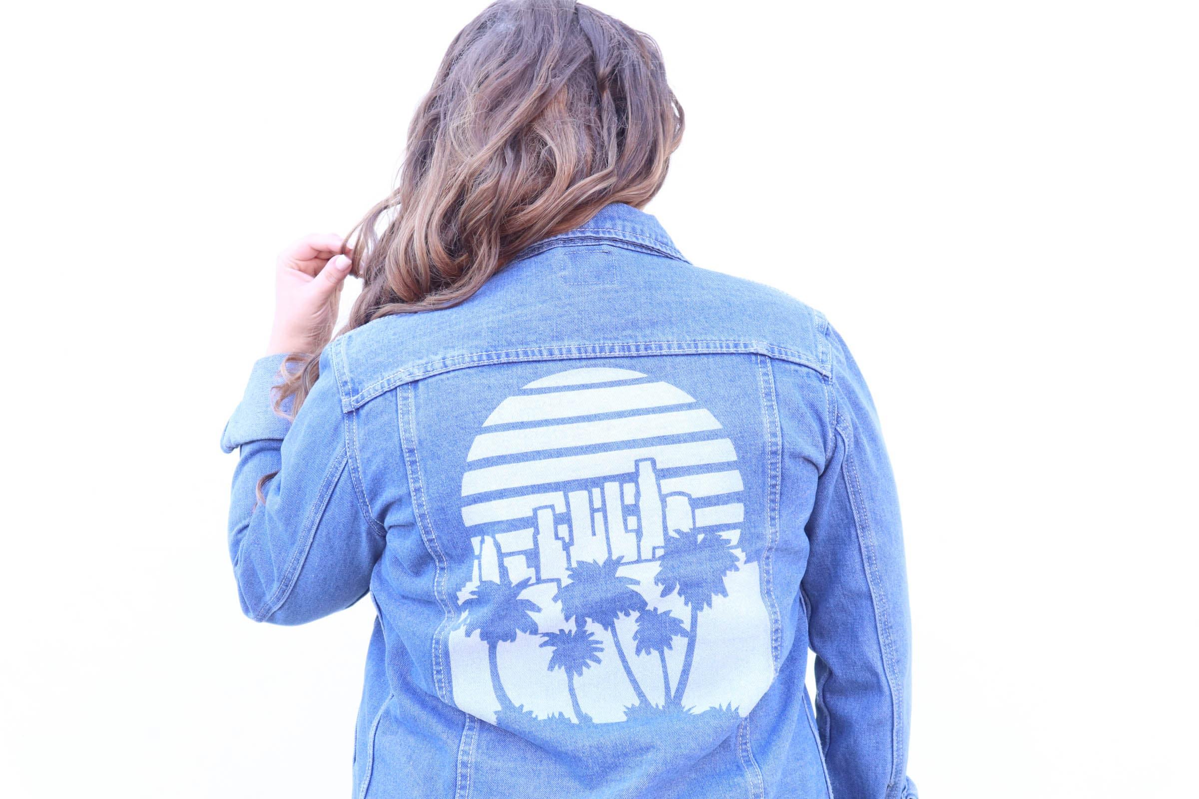 missyonmadison, missy on madison instagram, fashion blogger, la blogger, style blogger, white mountain shoes, white mountain wedges, espadrille wedges, lace babydoll dress, cream lace babydoll dress, white lace babydoll dress, boohoo denim jacket, coachella 2017, coachella style, festival wear, palm tree jacket, palm tree denim jacket, white wedges, mirrored sunglasses, silver sunglasses, vera bradley, vera bradley backpack, brunette hair, clip in hair extensions, boyfriend denim jacket, festival style 2017,