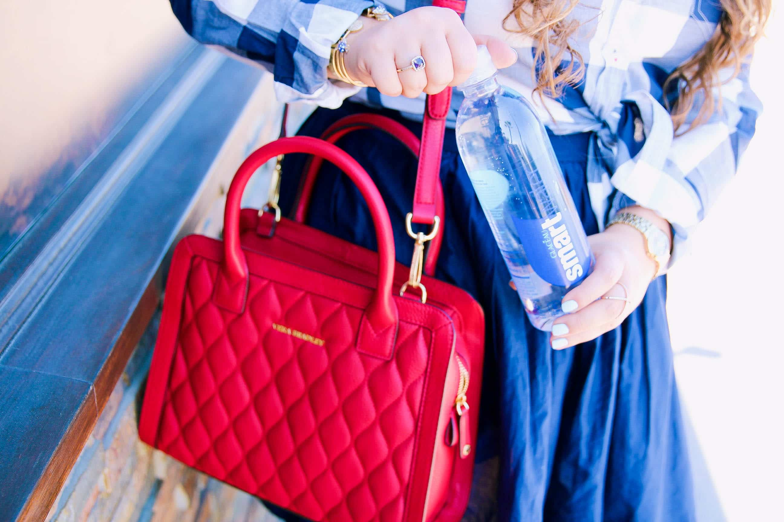 missyonmadison, melissa tierney, smartwater, spring style, hydration, how to stay hydrated, spring fitness, spring wellness, how to stay healthy this spring, target, smartwater at target, la blogger, fashion blogger, lifestyle blogger, flatlay, what's in my bag,