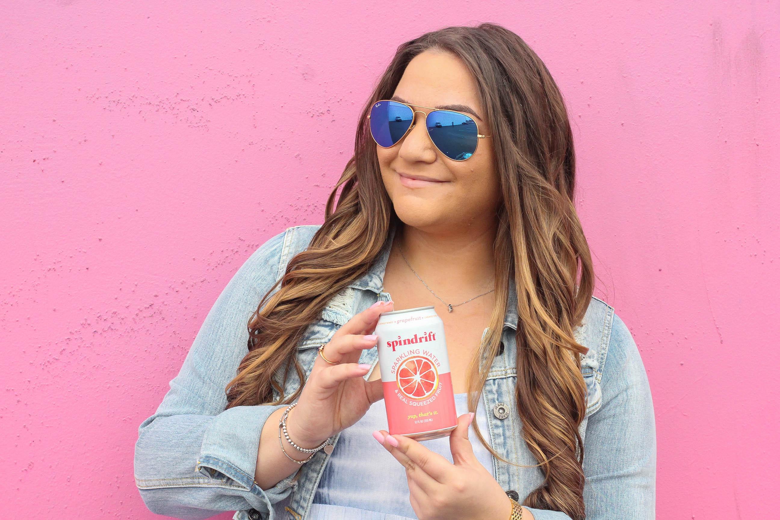 missyonmadison, missyonmadison instagram, fashion blogger, style blogger, lifestyle blogger, bloglovin, spindrift, spindrift beverages, spindrift sparkling beverages, spindrift giveaways, summer refresh, sparkling water, flavored drinks, shop bando, bando tote, striped straws,