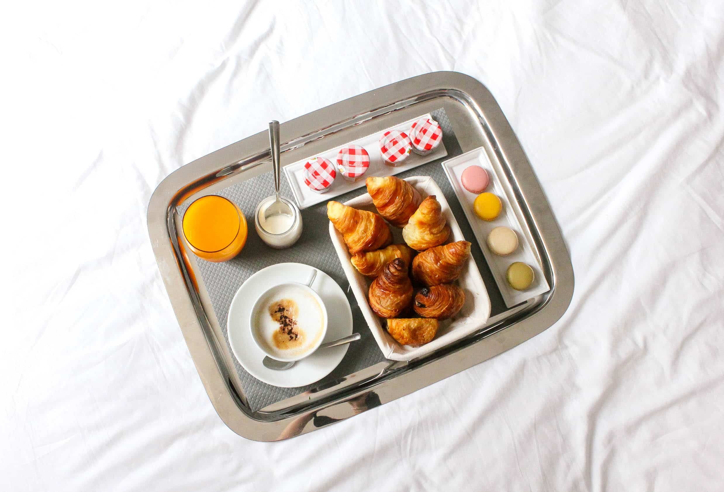 breakfast in bed, room service, missyonmadison, missyonmadison instagram, bloglovin, travel blog, travel blogger, fashion blogger, style blogger, fashion blog, pfw, paris, paris fashion week, jetaime paris, paris hotel, top paris hotels, hotel square louvois, where to stay in paris, bloglovin travel, wanderlust, 2017 travel guide, 2017 travel, paris in the fall, fall travel, missyonthemove, where to visit in paris,