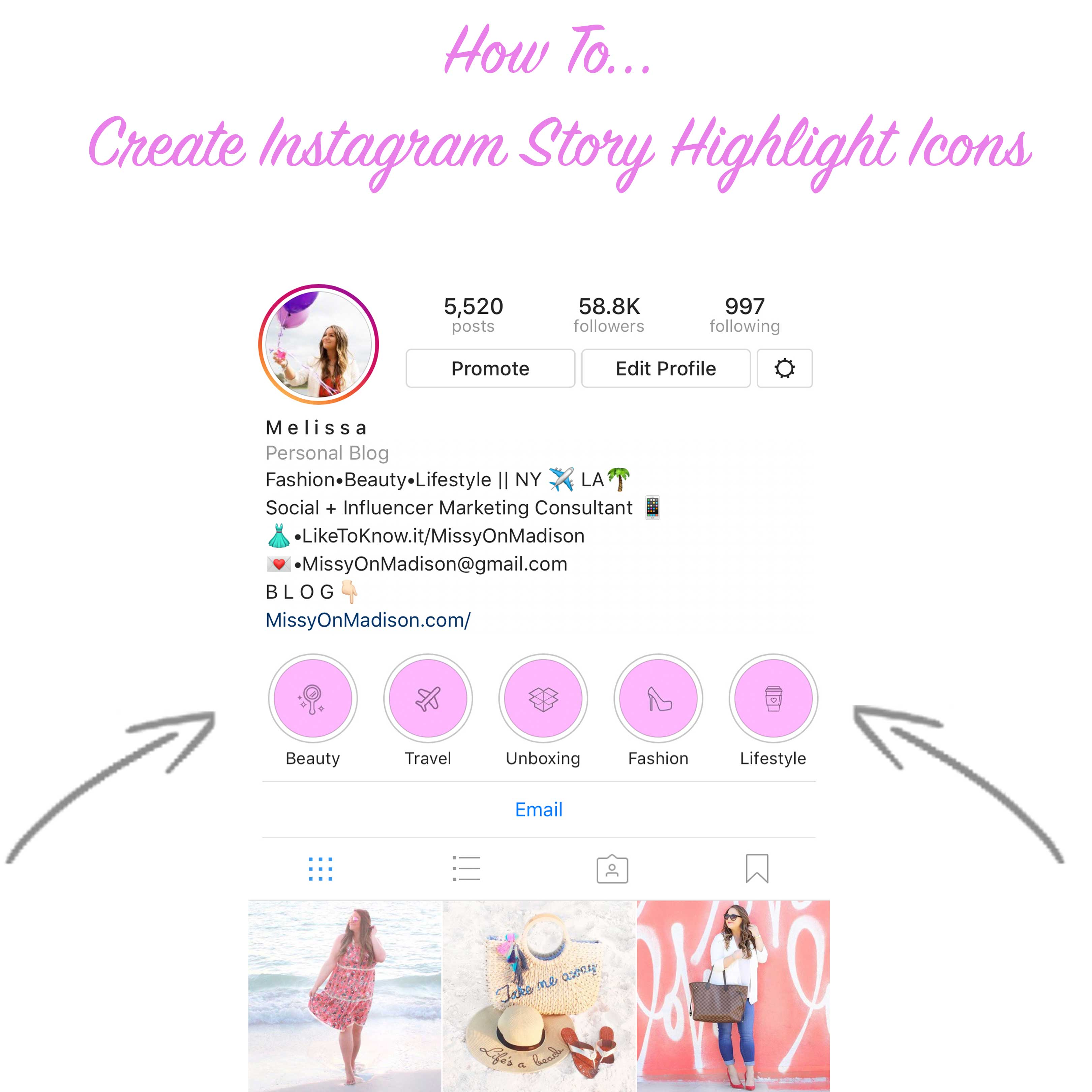 How To Create Instagram Story Highlight Icons Missy