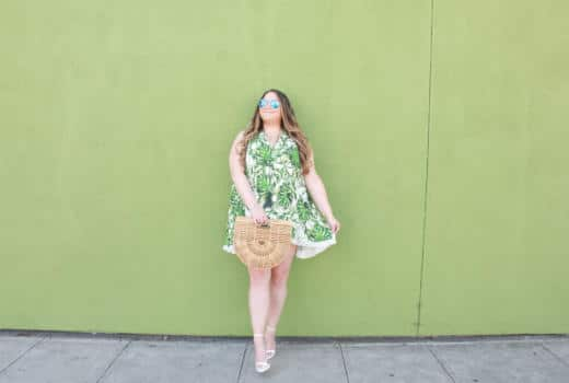 missyonmadison, missyonmadison blog, missyonmadison blogger, la blogger, fashion blog, fashion blogger, style blog, style blogger, bloglovin, melissa tierney, melissa tierney instagram, palm print dress, palm print outfit, palm leaf dress, kas new york, kas new york dress, ark bag, cult gaia, cult gaia ark bag, white heels, summer style, white ankle strap heels, raybans, mirrored aviators,