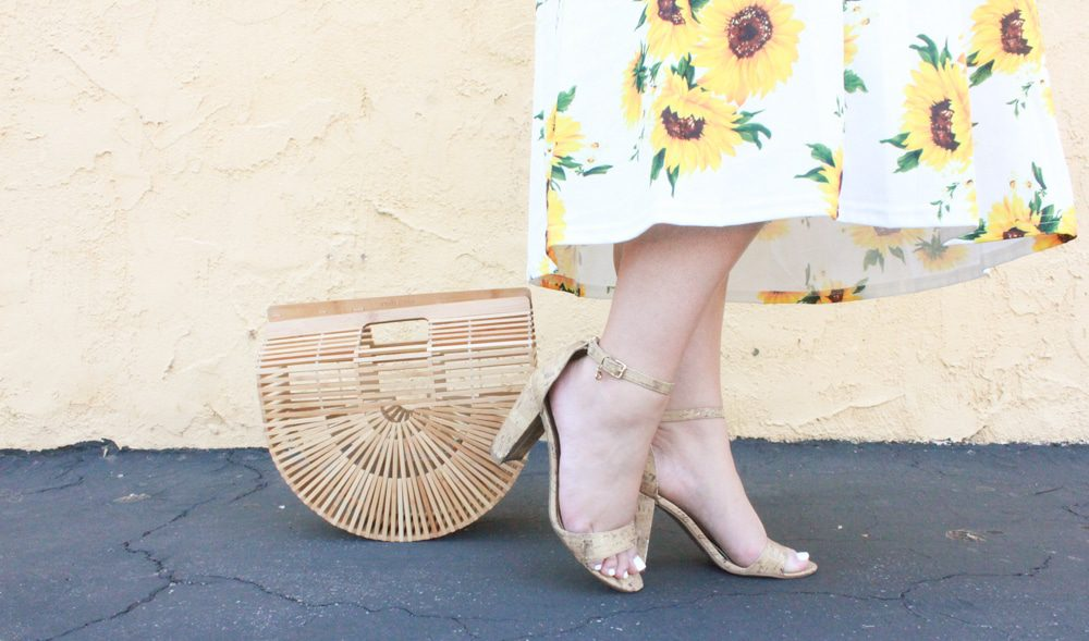 melissa tierney, melissa tierney blog, missyonmadison, missyonmadison instagram, missyonmadison blog, missyonmadison blogger, la blogger, sunflower dress, sunflower set, sunflower skirt set, fashion blog, fashion blogger, style blog, style blogger, ami clubwear, cork ankle strap heels, cork heels, cork sandals, cult gaia, cult gaia ark bag, ark bag, bloglovin, summer style, hair extensions, hair goals, balayage hair, currently wearing, la style, ami clubwear dress, womens style, womens trends,