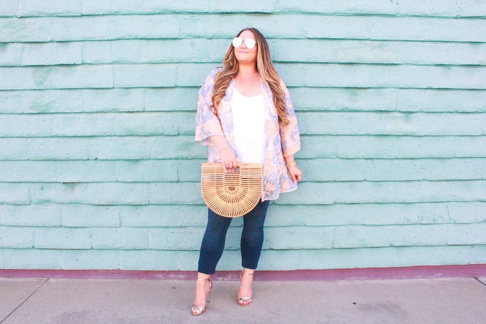 missyonmadison, missyonmadison instagram, missyonmadison blog, la blogger, missyonmadison blog, melissa tierney, melissa tierney blog, melissa tierney blogger, gold heels, rose gold heels, gold ankle strap heels, cult gaia ark bag, cult gaia, cult gaia bag, old navy rockstar jeans, skinny jeans, fall style, fall trends, lysse fashion, lysse kimono, white chiffon camisole, how to style a kimono, how to style a kimono for fall, fall fashion ideas, 2018 fall style, lola shoetique,