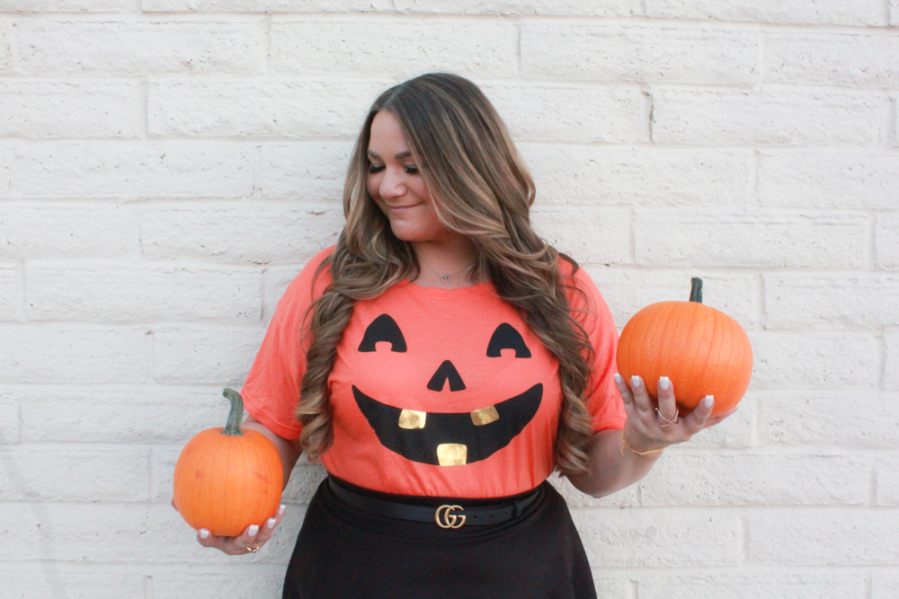 missyonmadison, missyonmadison blog, missyonmadison instagram, la blogger, fashion blog, fashion blogger, jack o lantern tee, halloween fashion, halloween outfit, black pumps, black skater skirt, black gucci belt, gucci belt, pumpkins, fashion inspo, outfit inspo, fall style, fall fashion, targetstyle, halloween tee, pumpkin tee, what to wear for Halloween