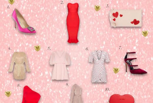 valentines day style guide, dat enight style, vday style guide, vday date night look, vday style inspo, valentines day 2019, valentines day 2019 style, pink heels, pink pumps, red pumps, red heels, heart shaped purse, heart purse, red dress, pink dress, fashion blogger, style blogger, la blogger, date night style, date night outfit goals,