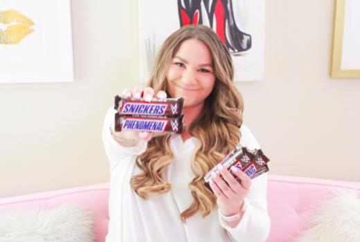 missyonmadison, missyonmadison instagram, wwe, snickers, snickers wwe, cnady, wwe fan, wwe review, snickers smackdown,