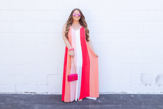 missyonmadison, missyonmadison blog, missyonmadison blogger, la blogger, missyonmadison instagram, fashion blog, fashion blogger, style blog, style blogger, red dress boutique, pink striped maxi dress, pink maxi dress, pink ysl bag, pink heels, pink purse, pink bag, pink hair accessories, pink hairband, pink headband, outfit ideas, outfit inspiration,