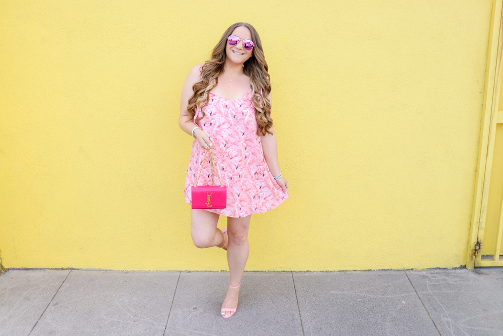 missyonmadison, missyonmadison blog, missyonmadison instagram, la blogger, fashion blog, fashion blogger, flamingo outfit, flamingo dress, red dress boutique, buddy love, buddy love dress, flamingo buddy love dress, pink ankle strap heels, pink ankle strap sandals, pink sandals, pink heels, pink ysl bag, pink ysl purse, pink ysl kate bag, style blog, style blogger, summer style, summertime style, melissa tierney, melissa tierney blog,
