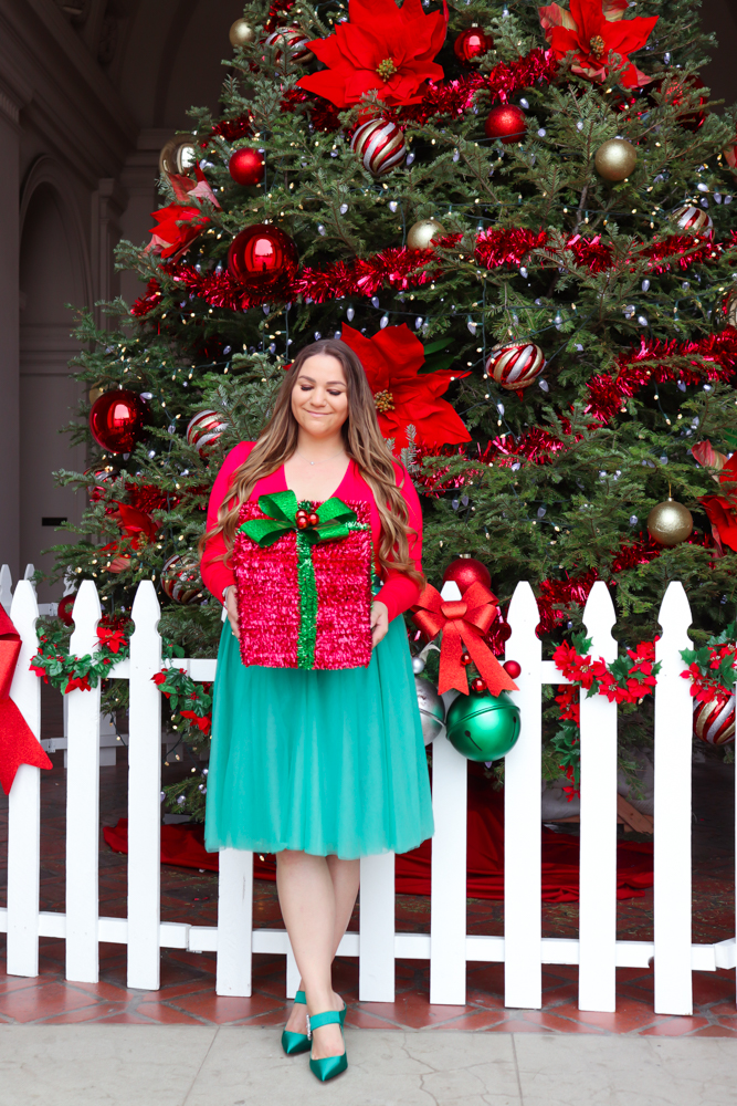 missyonmadison, bloglovin, fashion blog, fashion blogger, style blog, style blogger, holiday outfit, holiday outfit inspo, holidays 2019, 2019 holiday outfit ideas, christmas tree pasadena, christmas outfit inspo, christmas outfit ideas, satin pumps, j crew satin mules, gucci belt, gucci bag, tulle skirt, holiday fashion 2019, melissa tierney, melissa tierney instagram, missyonmadison instagram,
