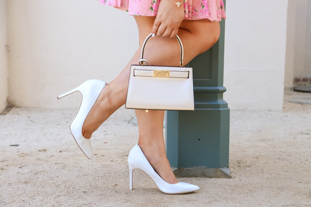missyonmadison, missyonmadison blog, missyonmadison instagram, bloglovin, ootd, outfit inspiration, loveshackfancy, loveshackfancy for target, white pointed toe pumps, garden party, loveshackfancy dress, tory burch, tory burch lee radziwill bag,