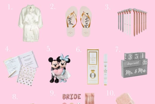 missyonmadison, bride to be, i do, goodies for the bride, bride robe, ring box, disney wedding, disney wedding merchandise, disney wedding guide, gifts for the bride,