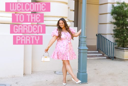 missyonmadison, ootd, outfit inspiration, love shack fancy, love shack fancy for target, target love shack fancy, white pumps, white classic pumps, white tory burch bag, micro bag, tory burch lee radziwill petite, sumemr style inspo, what to wear to a garden party, what to wear to a tea party,