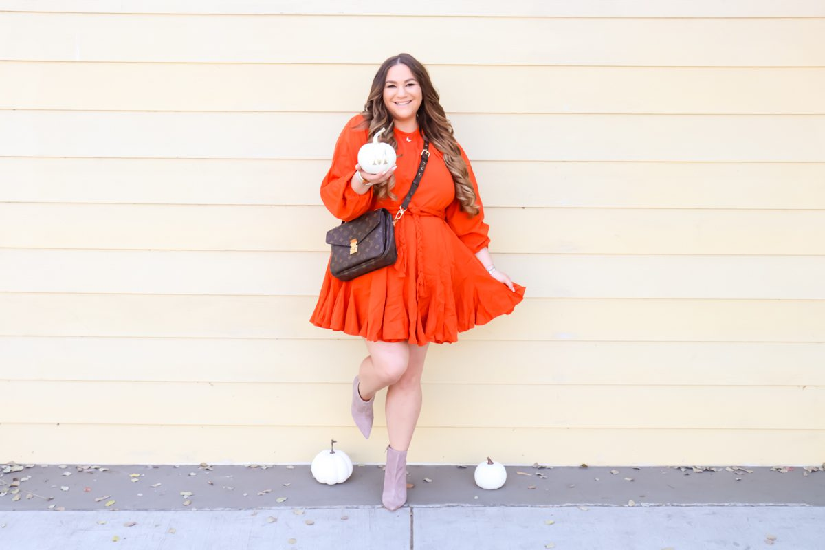 missyonmadison, red dress boutique, fall style, fall 2020 style, fall fashion, fall fashion 2020, red dress boutique reviews, red dress boutique finds, missyonmadison instagram, melissa tierney, la blogger, fashion blogger, what to wear this fall, what to wear for thanksgiving, raye the label booties, louis vuitton pouchette metis,