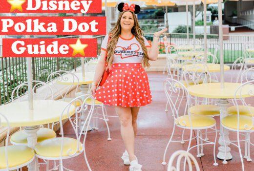 missyonmadison, missyonmadison blog, disney style, disney polka dot looks, disney polka dot merch, disney fashion, minnie style, minnie mouse style, polka dot dress, polka dot ears, polka dot disney merch,